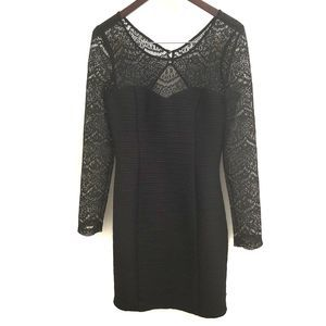 Guess Lace Long Sleeve Dress